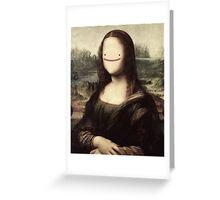 Mona Lisa ditto Greeting Card
