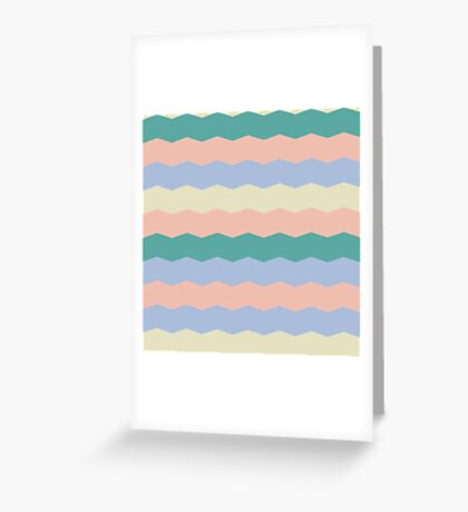 Tracery with striped  Greeting Card