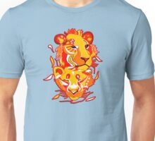 Abstract lion reflection design Unisex T-Shirt