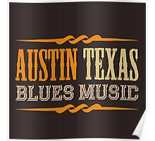 Austin texas blues music Poster