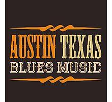 Austin texas blues music Photographic Print