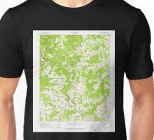 USGS TOPO Map Arkansas AR Smithville 259611 1965 24000 Unisex T-Shirt