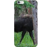 Moose in the Woods iPhone Case/Skin