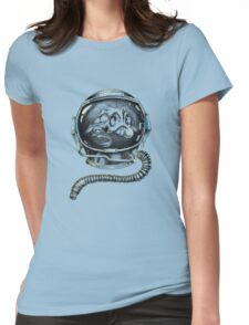 Deep air diver. Womens Fitted T-Shirt
