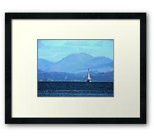 Sailing To Harlech 2 Framed Print