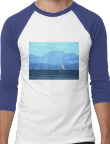 Sailing To Harlech 2 Men's Baseball ¾ T-Shirt