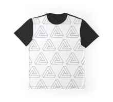 Illusion triangles Graphic T-Shirt