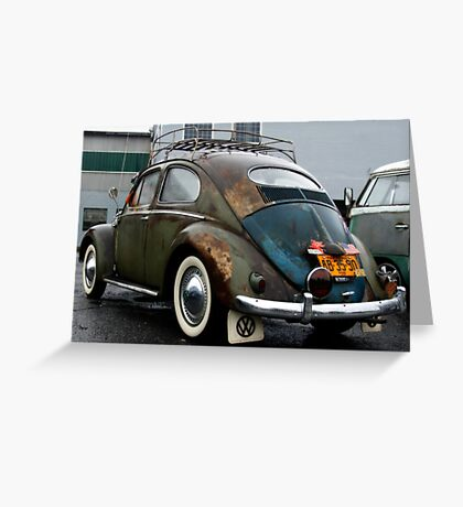 1951 Volkswagen - Jesus Saves Greeting Card