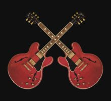 Red gibson es Kids Tee