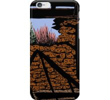 Stone House in Nevada Desert iPhone Case/Skin