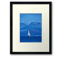 Sailing To Harlech Framed Print