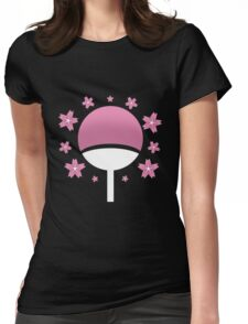 Naruto - Beauty With A Vengeance Womens Fitted T-Shirt