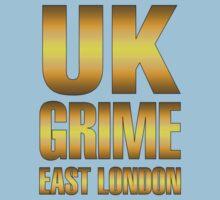 Golden UK grime Baby Tee