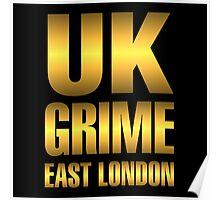 Golden UK grime Poster
