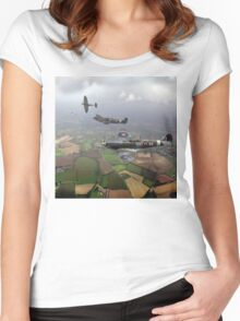 Spitfire sweep Women's Fitted Scoop T-Shirt