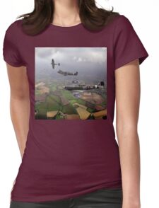 Spitfire sweep Womens Fitted T-Shirt