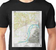 USGS TOPO Map Arkansas AR Fort Smith 258490 1997 24000 Unisex T-Shirt