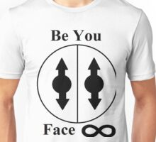 Percy Sly-A.I.O. Guardian God-Be You...Face Infinity Unisex T-Shirt