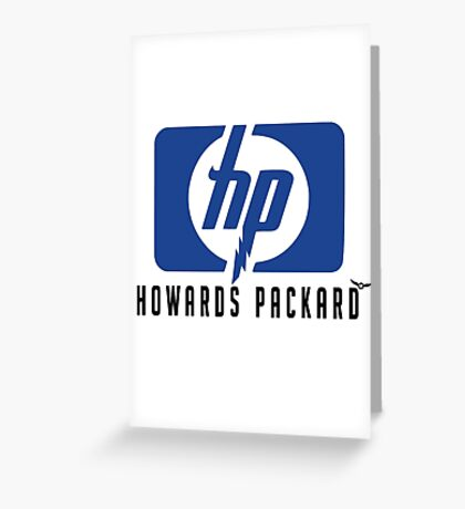 Howards Packard! Greeting Card
