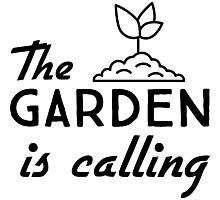 The garden is calling Photographic Print