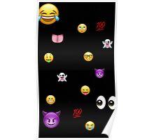 Emoji explode  Poster