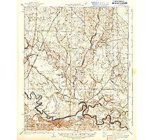 USGS TOPO Map Arkansas AR Moro Bay 260206 1938 62500 Photographic Print