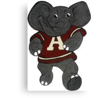 Alabama Roll Tide Elephant Canvas Print