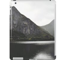 When moutains admire themselves iPad Case/Skin