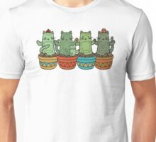 Catcus Garden (Single Row) Unisex T-Shirt