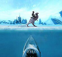 Jaws Tauntaun by jizzinmypants2