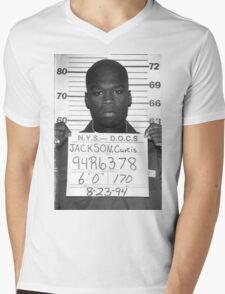 Fiddy Five-O Mens V-Neck T-Shirt