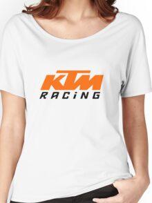 KTM LOGO Women's Relaxed Fit T-Shirt