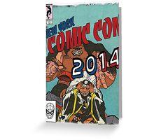 Comic Con 2014 Shirt Greeting Card