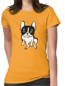 Bored Frenchie Womens Fitted T-Shirt