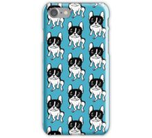 Bored Frenchie iPhone Case/Skin