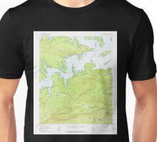 USGS TOPO Map Arkansas AR Mc Graw Mountain 259081 1962 24000 Unisex T-Shirt