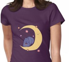 Moon Squirrel Womens Fitted T-Shirt