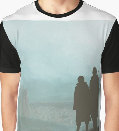 Itachi & Kisame : Ombres Graphic T-Shirt