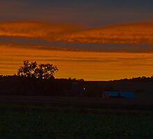 Country Sunset by Timothy  Ruf