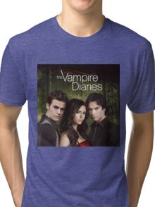 The Vampire Diaries Cover Tri-blend T-Shirt