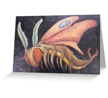 Galactic Moth Greeting Card
