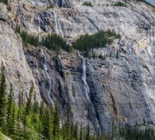 Weeping Wall Banff National Park Sticker