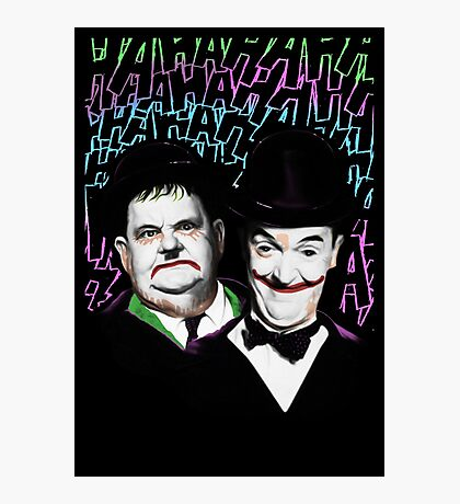 A Pair of Jokers Photographic Print