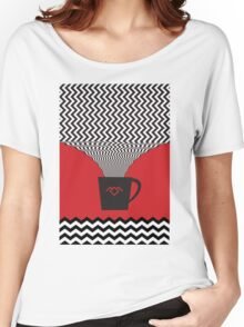 a damn fine cup of coffee Women's Relaxed Fit T-Shirt