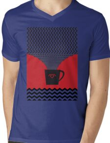 a damn fine cup of coffee Mens V-Neck T-Shirt