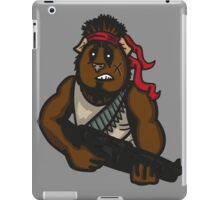 Action Guinea Pig iPad Case/Skin