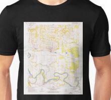USGS TOPO Map Arkansas AR Newark 259229 1962 24000 Unisex T-Shirt