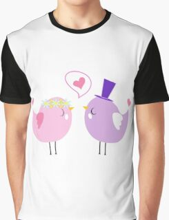 couple birds by hangaintan Graphic T-Shirt