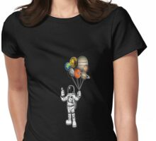 ASTRONOT RULE THE UNIVERSE Womens Fitted T-Shirt