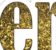 Gold Aero Sticker